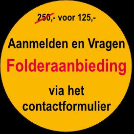 Folderaanbieding